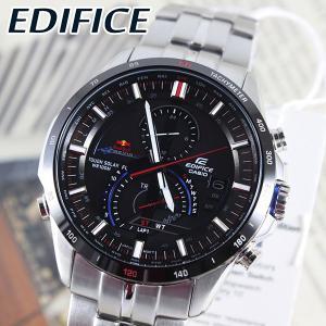 エディフィス クロノグラフ ソーラー EQS-A500RB-1A レッドブルレーシング メンズ 腕時計|tokeiten