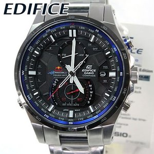 CASIO EDIFICE カシオ エディフィス レッドブル 時計 電波 ソーラー EQW-A1200RB-1A メンズ 腕時計 海外モデル|tokeiten
