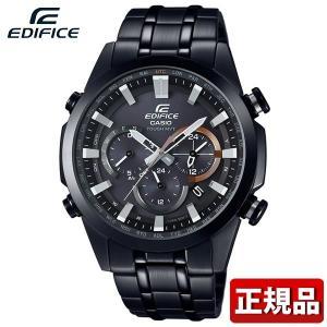 CASIO カシオ EDIFICE エディフィス EQW-T630JDC-1AJF 国内正規品 メンズ 腕時計 ウォッチ メタル バンド タフソーラー電波時計 アナログ 黒 ブラック|tokeiten