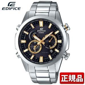 CASIO カシオ EDIFICE エディフィス EQW-T640D-1A9JF メンズ 腕時計 タフソーラー アナログ 黒 ブラック 銀 シルバー 国内正規品|tokeiten