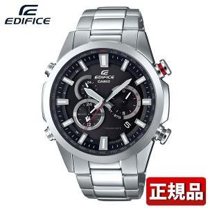 カシオ エディフィス タフソーラー EQW-T640D-1AJF アナログ メンズ 腕時計 ウォッチ 黒 ブラック 銀 シルバー 電波時計  国内正規品|tokeiten