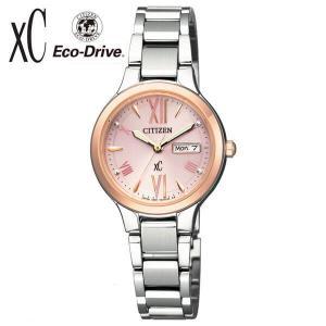 シチズン クロスシー 腕時計 レディース ソーラー カレンダー 10気圧防水 メタルバンド ビジネス CITIZEN Xc EW3224-53W|tokeiten