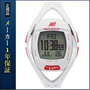 new balance EX2 901 ニューバランス 腕時計 メンズ 時計 ランニングウォッチ スポーツウォッチ EX2-901-004 ホワイト×レッド|tokeiten
