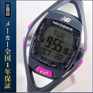 new balance EX2 901 ニューバランス 腕時計 レディース 時計 ランニングウォッチ スポーツウォッチ EX2-901-102 グレー×ピンク|tokeiten