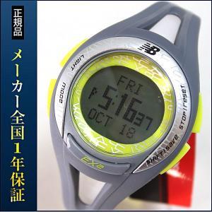 new balance EX2 903 ニューバランス 腕時計 メンズ 時計 ランニングウォッチ スポーツウォッチ EX2-903-003 グレー×ライム|tokeiten