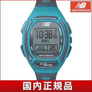 25日から最大31倍 new balance EX2 906 ニューバランスEX2-906-103 GPS腕時計 メンズ 時計 ランニング スポーツ デジタル ブルー 国内正規品|tokeiten