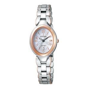 シチズン エクシード CITIZEN ソーラー 腕時計 レディース EX2044-54W|tokeiten