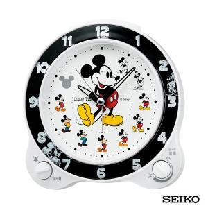 先着8%OFFクーポン SEIKO セイコークロック キャラクター ミッキー&フレンズ FD461W 国内正規品 目覚まし 時計 置時計 ディズニー tokeiten