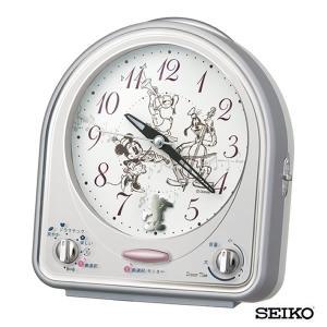 SEIKO セイコークロック  キャラクター ミッキー&フレンズ FD464S 国内正規品 目覚まし めざまし 目覚し 置時計 メロディー アラーム スヌーズ tokeiten