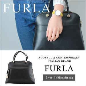 FURLA フルラ PIPER パイパー ハンドバッグ ショルダーバッグ 鞄 革 レザー 2WAY 783291 Mサイズ オニキス ブラック 黒 レディース 誕生日プレゼント ギフト|tokeiten