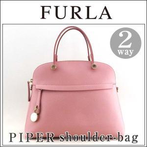 FURLA フルラ PIPER パイパー ハンドバッグ ショルダーバッグ 2WAY 783296 ウィンターローズ ピンク レディース|tokeiten
