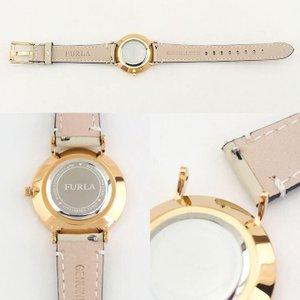 4a2307dc4d6a ... FURLA フルラ R4251108503 GIADA ジャーダ 33mm レディース 腕時計 ピンクゴールド ローズゴールド ベージュ  革ベルト レザー