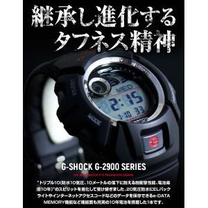 G-SHOCK Gショック ジーショック g-shock gショック G-2900F-1 ブラック 黒 赤 レッド 逆輸入|tokeiten|03