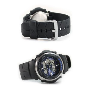 G-SHOCK BASIC G-SPIKE Gショック ジーショック g-shock gショック Gスパイク G-300-2 メンズ アナログ 腕時計 黒 ブラック 逆輸入|tokeiten|06