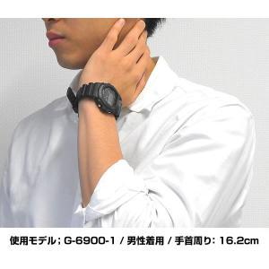 レビュー3年保証 G-SHOCK Gショック CASIO カシオ 人気 g-shock Gショック ジーショック ソーラー G-6900-1 タフソーラー 腕時計 ブラック 黒 逆輸入|tokeiten|02