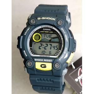 レビュー3年保証 G-SHOCK Gショック Gショック ミリタリー g-shock G-ショック Standard G-7900-2 ブルーグレー×イエロー G-SHOCK メンズ 腕時計 逆輸入 tokeiten