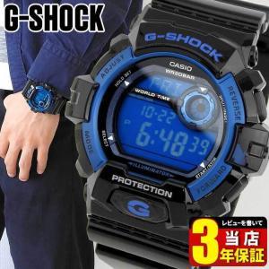 G-SHOCK Gショック G-8900A-1 Gショック 黒 青 逆輸入|tokeiten