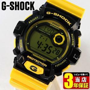 レビュー3年保証 カシオ CASIO G-SHOCK Gショック クレイジーカラーズ メンズ 腕時計 海外モデル G-8900SC-1Y BIG CASE|tokeiten