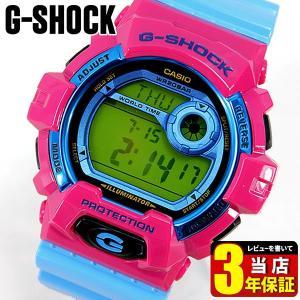 レビュー3年保証 カシオ Gショック CASIO G-SHOCK クレイジーカラーズ メンズ 腕時計 時計 海外モデル G-8900SC-4 BIG CASE|tokeiten
