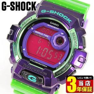BOX訳あり レビュー3年保証 カシオ Gショック ジーショック CASIO G-SHOCK クレイジーカラーズ レアモデル メンズ 腕時計 時計 海外モデル G-8900SC-6 BIG CASE|tokeiten