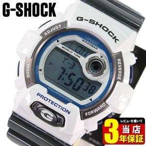 BOX訳あり カシオ CASIO G-SHOCK Gショック クレイジーカラーズ メンズ ホワイト グレー 腕時計 海外モデル G-8900SC-7 BIG CASE 逆輸入|tokeiten