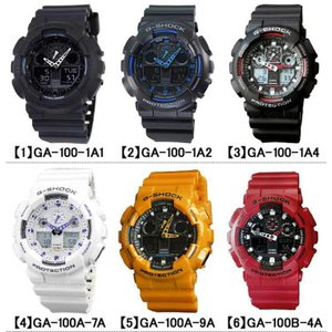BOX訳あり G-SHOCK Gショック メンズ腕時計 アナログ 黒 白 GA-100-1A1 GA-100-1A2 GA-100-1A4 GA-100A-7A GA-100A-9A 逆輸入 tokeiten 04
