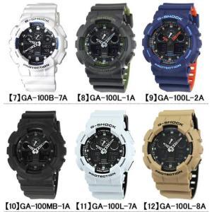 BOX訳あり G-SHOCK Gショック メンズ腕時計 アナログ 黒 白 GA-100-1A1 GA-100-1A2 GA-100-1A4 GA-100A-7A GA-100A-9A 逆輸入 tokeiten 05