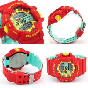 BOX訳あり レビュー3年保証 G-SHOCK Gショック カシオ  メンズ 腕時計 ブルー グリーン イエロー オレンジ GA-400-2A|tokeiten|07