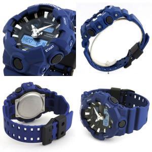 BOX訳あり G-SHOCK Gショック CASIO カシオ GA-700-1A GA-700-1B GA-700-2A GA-700-4A アナログ メンズ 腕時計 海外モデル 黒 ブラック 赤 レッド 青 ブルー|tokeiten|06