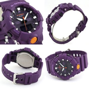 BOX訳あり G-SHOCK Gショック カシオ GA-800-4A アナデジ メンズ レディース 20気圧防水  カレンダー 腕時計 黒 ブラック 赤 レッド|tokeiten|08