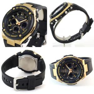 BOX訳あり G-SHOCK Gショック CASIO カシオ G-STEEL GST タフソーラー アナログ メンズ 腕時計 海外モデル 黒 ブラック  ゴールド  シルバー|tokeiten|05