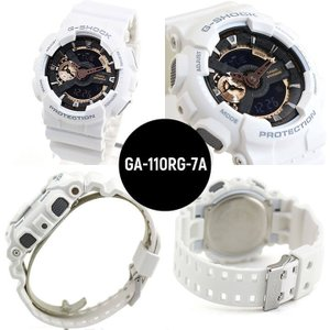 ペアウォッチ ブランド CASIO カシオ G-SHOCK Gショック ベビーG Baby-G 腕時計 メンズ レディース GA-110RG-7A BA-110-7A1 ホワイト 白|tokeiten|03