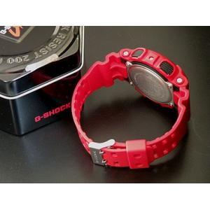 レビュー3年保証 G-SHOCK Gショック CASIO カシオ ジーショック G-SHOCK Standard レッド 赤 腕時計 カシオ アナデジ GA-100B-4A BIG CASE アナログ 逆輸入|tokeiten|05