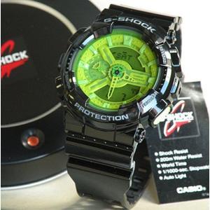 レビュー3年保証 G-SHOCK Hyper Colors Gショック ジーショック g-shock G-ショック Standard GA-110B-1A3 G-SHOCK メンズ 腕時計 BIG CASE
