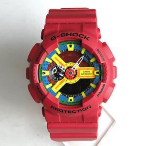 G-SHOCK Crazy Colors Gショック ジーショック g-shock G-ショック Standard GA-110FC-1A レッド 赤 クレイジーカラーズ BIG CASE 逆輸入|tokeiten|03