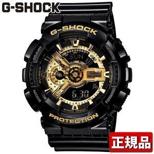 G-SHOCK Gショック ジーショック 人気 Black×Gold Series GA-110GB-1AJF 黒 金 G-SHOCK Gショック メンズ 腕時計 BIG CASE