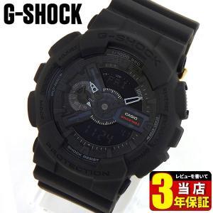 G-SHOCK 35周年記念モデル BIG BANG BLACK アナ デジ メンズ 腕時計 黒 ブラック ウレタン GA-135A-1A 海外モデル|tokeiten