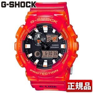 CASIO カシオ G-SHOCK Gショック 多機能 GAX-100MSA-4AJF 国内正規品 国内モデル アナログ デジタル メンズ 腕時計 黒 ブラック 赤 レッド ウレタン バンド|tokeiten