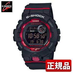 G-SHOCK Gショック CASIO カシオ GBD-800-1JF モバイルリンク機能 G-SQUAD デジタル メンズ 腕時計 国内正規品 黒 ブラック 赤 レッド ウレタン tokeiten