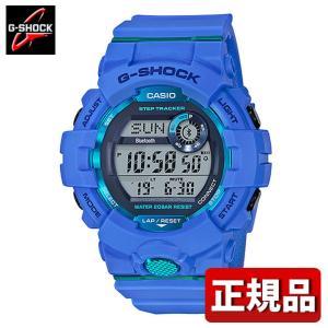 G-SHOCK Gショック CASIO カシオ GBD-800-2JF モバイルリンク機能 G-SQUAD デジタル メンズ 腕時計 国内正規品 青 ブルー ウレタン tokeiten