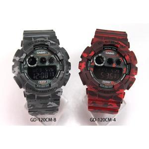 G-SHOCK Gショック レビュー3年保証 CASIO カシオ ジーショック 腕時計 メンズ GD-120CM-8 カモフラージュ 迷彩 海外モデル 逆輸入 tokeiten 07