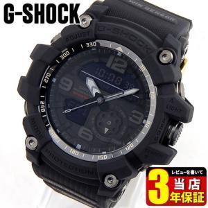 ポイント5倍 BOX訳あり G-SHOCK BIG BANG BLACK MUDMASTER アナデジ メンズ 腕時計 35周年記念モデル 黒 ブラック ウレタン GG-1035A-1A  海外モデル|tokeiten