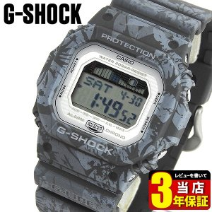 CASIO カシオ G-SHOCK ジーショック GLX-5600F-8 海外モデル メンズ 腕時計 ウレタン 花柄 ボタニカル グレー 逆輸入|tokeiten