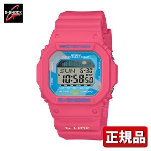 G-SHOCK Gショック CASIO カシオ GLX-5600VH-4JF G-LIDE スポーツライン デジタル メンズ 腕時計 国内正規品 赤 レッド 青 ブルー ピンク ウレタン|tokeiten