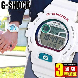 G-LIDE G-SHOCK Gショック ジーショック GライドGLX-6900-7 ホワイト 白 G-SHOCK腕時計 逆輸入|tokeiten