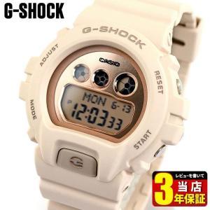 CASIO カシオ G-SHOCK Gショック Sシリーズ デジタル メンズ レディース 腕時計 GMD-S6900MC-4 海外モデル ピンク ベージュ ウレタン tokeiten