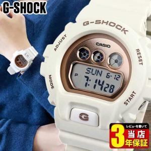 CASIO カシオ G-SHOCK Gショック Sシリーズ デジタル メンズ レディース 腕時計 GMD-S6900MC-7 海外モデル 白 ホワイト ピンクゴールド ウレタン|tokeiten