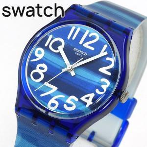 SWATCH スウォッチ GN237 LINAJOLA リナヨラ レディース 腕時計 ブルー ホワイト 青 白|tokeiten