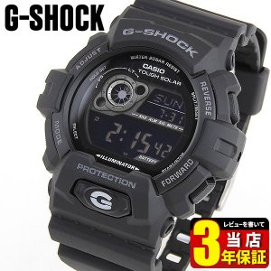 CASIO カシオ G-SHOCK Gショック タフソーラー GR-8900A-1 腕時計 ウレタン デジタル メンズ ブラック 黒 海外モデル 日本未発売モデル|tokeiten