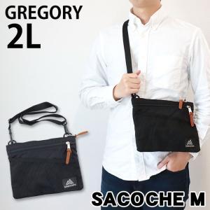 GREGORY グレゴリー 109457-1041 クラシックサコッシュ ショルダーバッグ 黒 ブラック メンズ レディース 男女兼用 ユニセックス 海外モデル|tokeiten